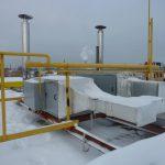 Воздушное отопление производственных зданий